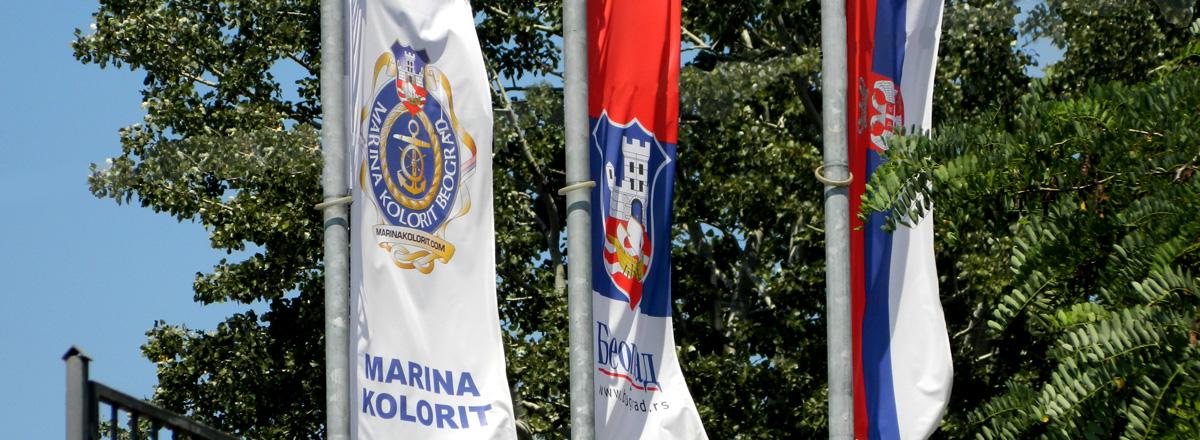 Zastave u marini kolorit